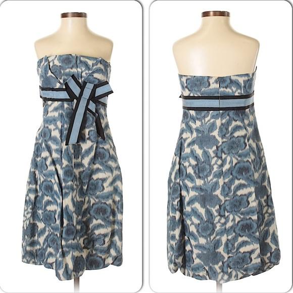 BCBG Dresses & Skirts - BCBG NWT Mod strapless party dress cocktail